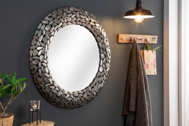nástenné zrkadlá, zrkadlá z kovu, strieborné zrkadlá