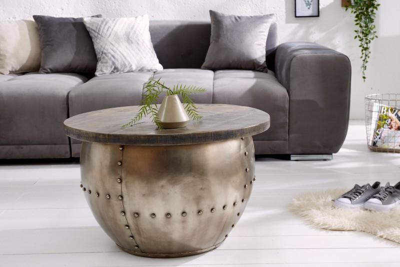okrúhle stolíky Reaction, dizajnový nábytok, konferenčné stolíky