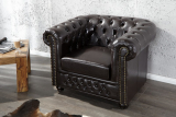 Kreslo CHESTERFIELD BROWN