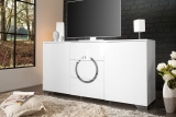 Komoda ZET CIRCLE WHITE