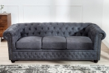 Sedačka CHESTERFIELD 3 GREY