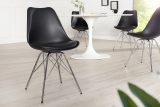 Stolička SCENER CHAIR RETRO BLACK II