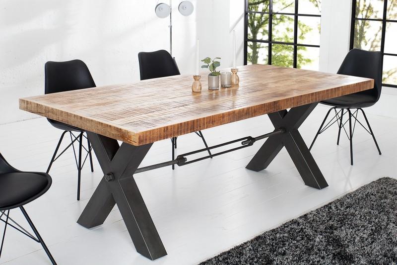 be89a33517b8 Jedálenský stôl z masívneho dreva CROFT 240.