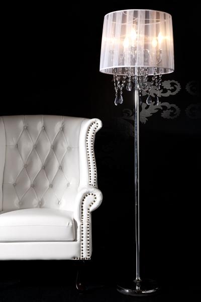 Luxusná stojanová lampa zo série Venezia. Dobová lampa v štýle staro-talianskeho návrhu pre moderné bývanie. Luxusná dizajnová stojanová lampa.