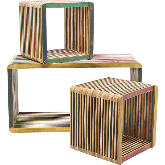 luxusn reg le cube micado 3 set. Black Bedroom Furniture Sets. Home Design Ideas