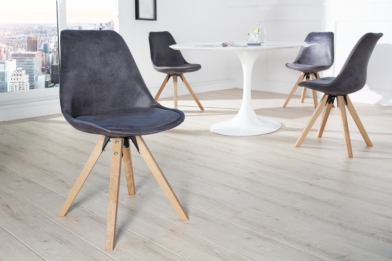 Stolička SCENER CHAIR ANTIK GREY