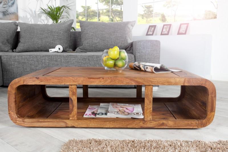 68ca241cf Konferenčný stolík z dreva ROUND. Masívny nábytok Reaction.