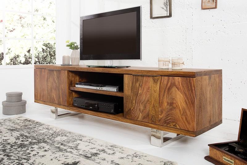 4eedffb03 TV stolík z masívneho dreva FIREMAN. Masivny nabytok.