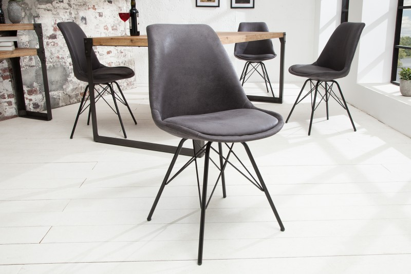 Stolička SCENER CHAIR RETRO GRAY