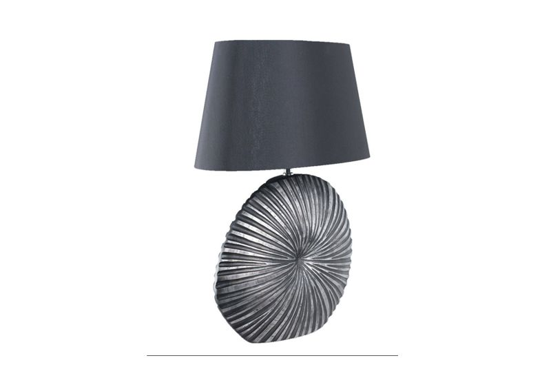Stolová lampa SHINE-ALU BLACK SMALL