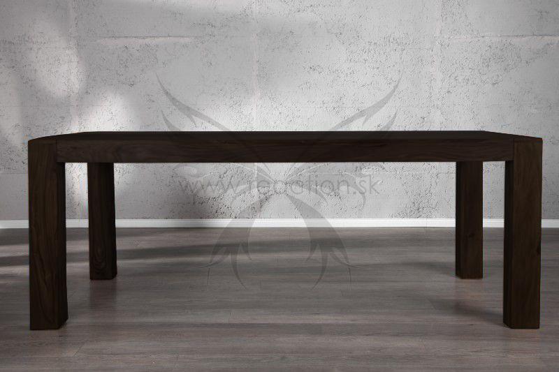 5707afd10ab7c Jedálenský stôl z masívu SHEESHAM NEGRO 200. Masivny nabytok.