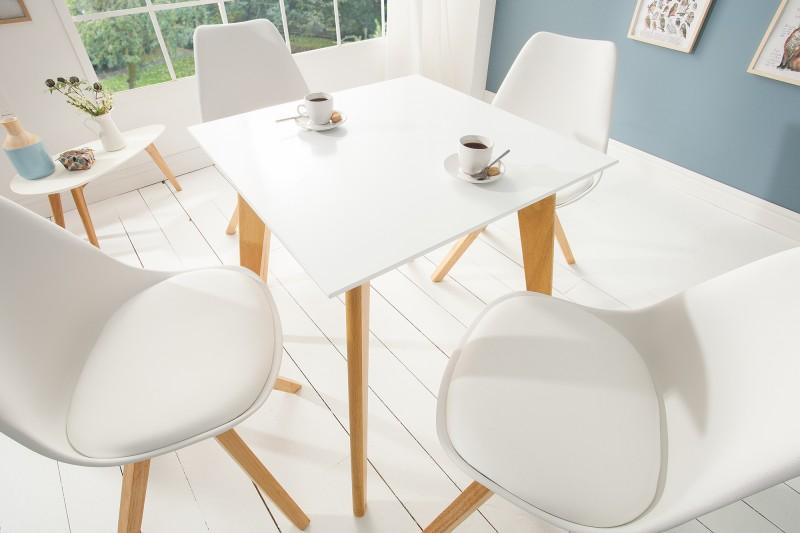 3fd4b45feaf2 Jedálenský stôl biely SCENER II 70.Jedálenské stoly nábytok Reaction.
