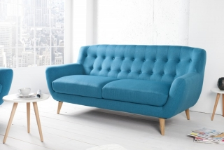 Sedačka 3 SOFA RETRO BLUE