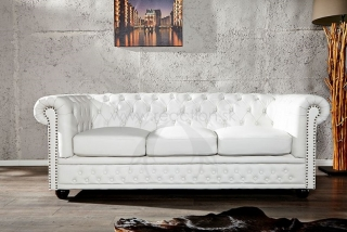 CHESTERFIELD 3 WHT