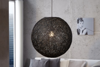 Lampa COCOON BLACK