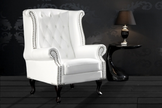 CHESTERFIELD OLD WHITE