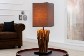 Stolová lampa EUPHOR BROWN