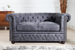 Sedačka CHESTERFIELD 2 GREY