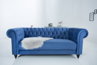 Sedačka CHESTERFIELD SAMET BLUE