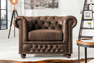Kreslo CHESTERFIELD VINTAGE LEATHER