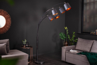 Stojanová lampa LEVEL BLACK STAND