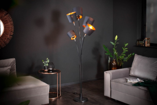Stojanová lampa LEVEL BLACK STAND II