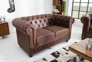 Sedačka CHESTERFIELD 2 VINTAGE LEATHER