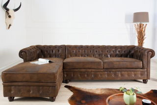 Sedačka CHESTERFIELD CORNER LEFT VINTAGE